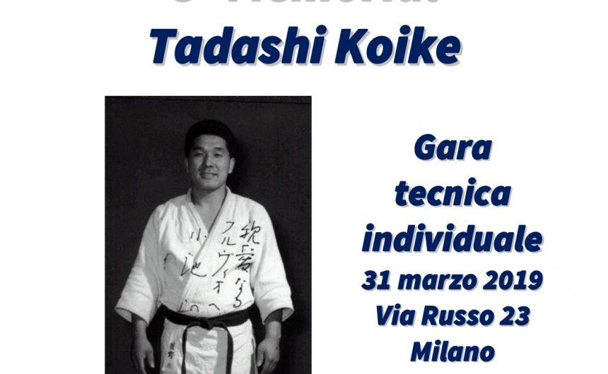 3° MEMORIAL TADASHI KOIKE