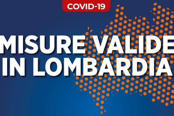 Coronavirus: misure di contenimento adottate da Regione Lombardia e dal Governo